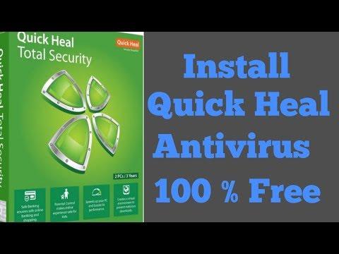 Install Quick Heal Antivirus Free Forever