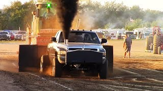 Truck/Tractor Pulls! Barry County Fair Pull 2017 West Michigan Pullers
