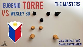 Eugenio Torre vs Wesley So ⎸Clash of the Titans ⎸The Masters