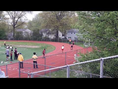NPHS @Bound Brook High School Boys 400m #2