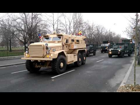 Romanian Land Forces Cougar MRAP vehicle