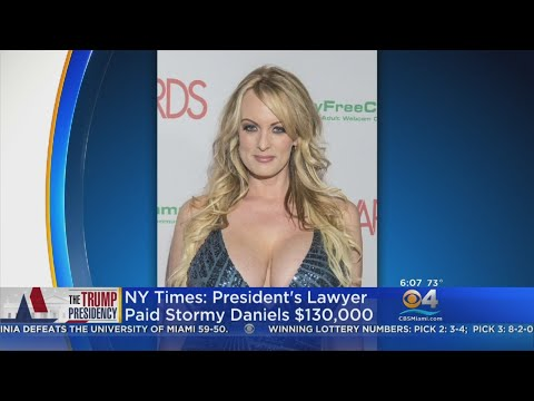 Trump Lawyer Claims He Paid Stormy Daniels