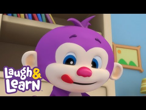 Laugh & Learn™ - Messy Little Monkey + More Kids Songs And Nursery Rhymes | Learning 123s