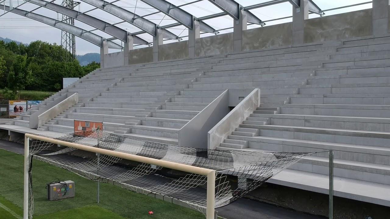 Altach Stadion Neue Tribune Wird Im Mai Fertiggestellt