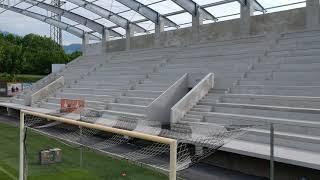 Altach Stadion: Neue Tribüne wird im Mai fertiggestellt