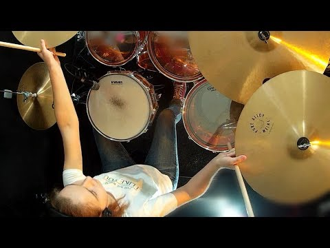 Mr. Roboto (Styx); drum cover by Sina