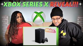 Xbox Series X Official Console Announcement Trailer REACTION!!