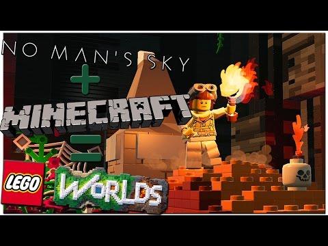 MINECRAFT+NO MANS SKY+LEGO ★ Топовый LEGO WORLDS