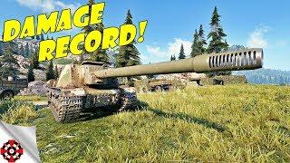World of Tanks | ISU-152 DAMAGE RECORD! (WoT ISU-152 gameplay)