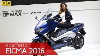 Yamaha TMAX SX DX 2017 | EICMA 2016 [ENGLISH SUB]