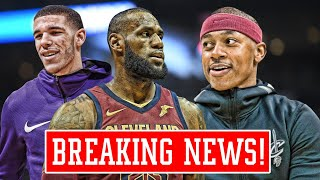 THE CAVALIERS GAVE UP! ISAIAH THOMAS WANTS TO START OVER LONZO BALL!   NBA News