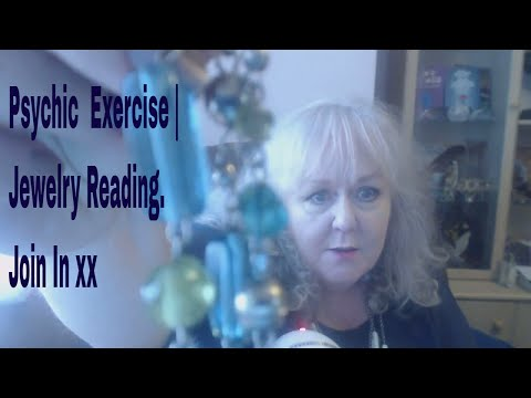 Psychic Awareness Exercise 1 | What do you pick up from this necklace? Colette Clairvoyant