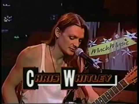 Chris Whitley on Much Music:   Poison Girl n Phone Call from Leavenworth