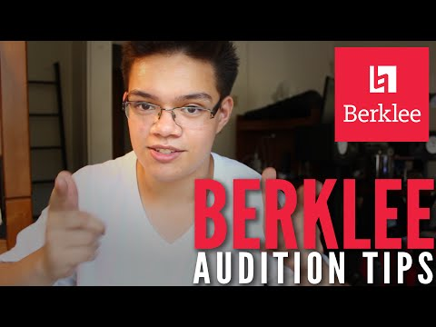 My Berklee Audition Story + Tips - insaneintherainmusic / Carlos Eiene