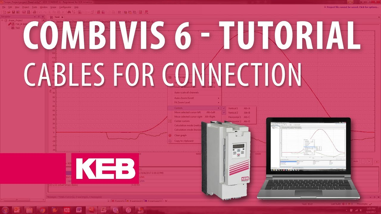Combivis 6 Tutorial: Ep 01 - Cables to Connect to KEB F5 device on