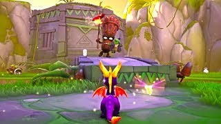 SPYRO REIGNITED TRILOGY - 12 Minutes Of NEW Gameplay Demo Walkthrough PS4 (2018)