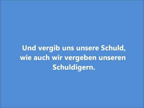Lord's Prayer In German