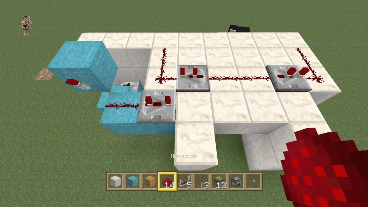 how to make a furnace in minecraft ps4
