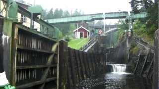 Dalslands kanal med M/S Storholmen (Håverud till akvedukten), del 1/3