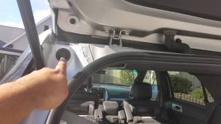 2012 ford explorer water leak in spare tire area