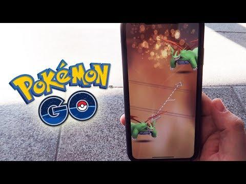 PRIMER INTERCAMBIO con AMIGO con SUERTE de SALAMENCE SHINY en el Pokémon GO Community Day! [Keibron] thumbnail