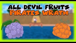 [Roblox] One Piece Pirates Wrath   All Devil fruit Showcase [Fixed]
