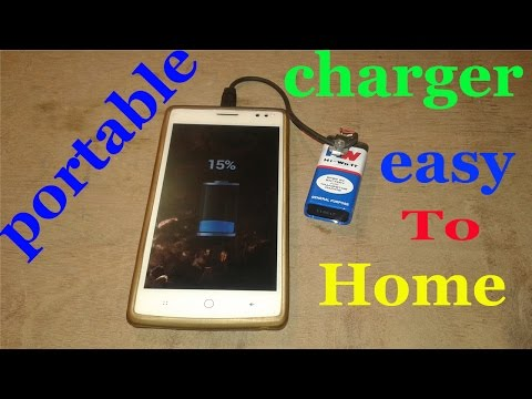 Portable Mobile charger , portable mobile charger kaise banae ye janie hindi me