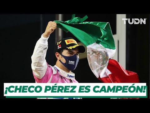 ¡ORGULLO MEXICANO! ¡Checo Pérez logra su primera victoria en Fórmula 1! I TUDN