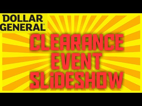 Dollar General Clearance Event Slideshow February 2020