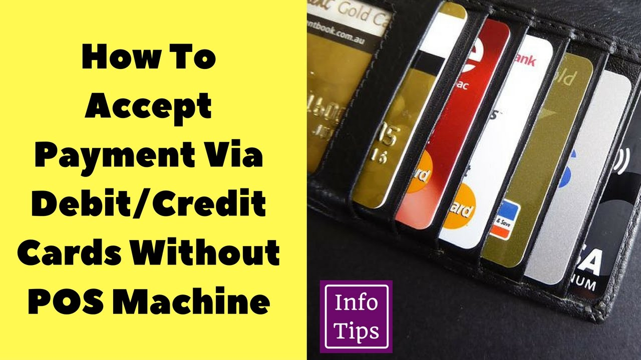 How to accept credit cards and debit cards online