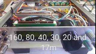 Homebrew QRP six-band SSB/CW transceiver
