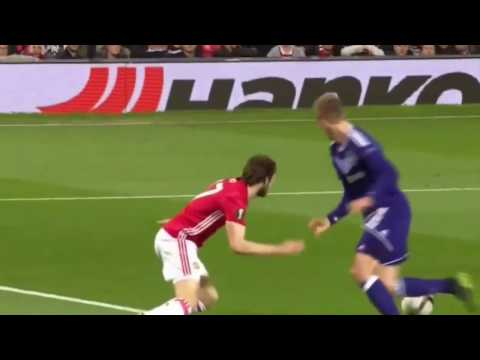 Manchester United vs Anderlecht 2-1 All Goals & Highlights Europa League