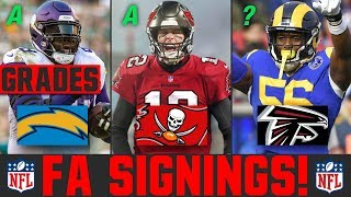 2020 NFL Free Agency Signings News | Grading NFL Free Agency Signings