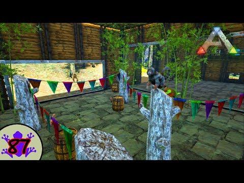 Ark: Shredder's Zoo - Monkey House - Mesopithecus Zoo Enclosure [87]