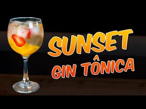 SUNSET GIN TÔNICA 1