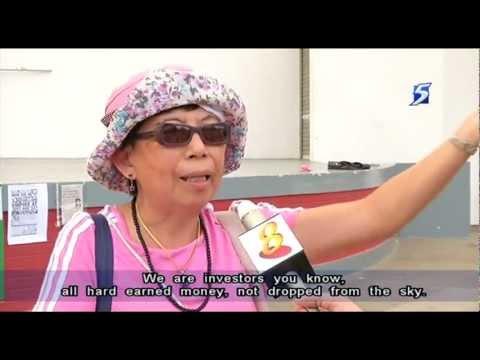 Hundred investors at Hong Lim Park on The Gold Guarantee scam - 06Mar2013