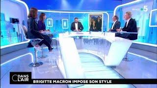 Brigitte Macron impose son style #cdanslair 10.03.2018