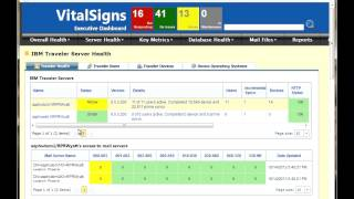 Monitor IBM Notes Traveler with VitalSigns Plus
