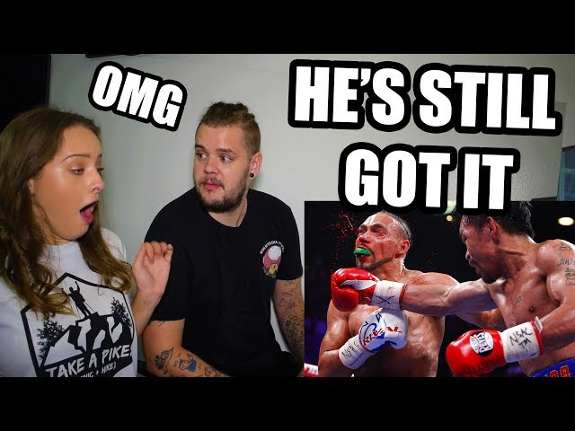 REACTING TO PACQUIAO VS THURMAN - PRIDE OF THE PHILIPPINES HAS STILL GOT IT!