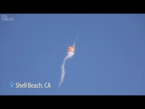 Raw Video: Firefly's first Vandenberg rocket launch fails