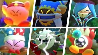 Kirby Star Allies - All Character Death Animations & Game Over Screens (DLC Included)