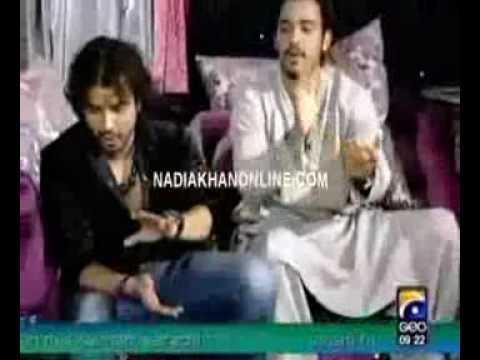 Toshi & Sharib in Nadia Khan Show