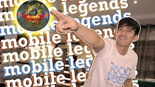 Playing MOBILE LEGENDS (Victory or Defeat?) | Robi Domingo