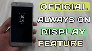 How To Activate Always On Display Feature In Any Samsung Smartphone