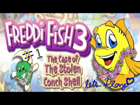 Freddi Fish 3: The Case of the Stolen Conch Shell P (1) |