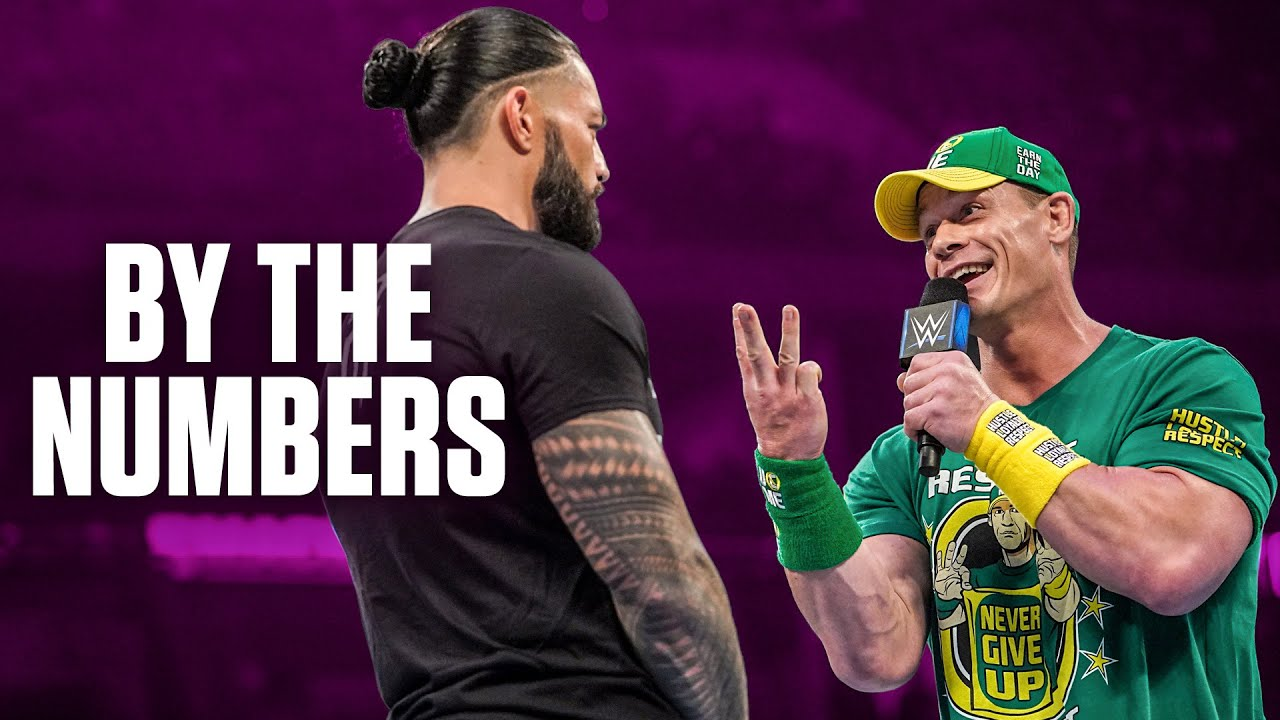 Download Roman Reigns vs. John Cena: By the Numbers