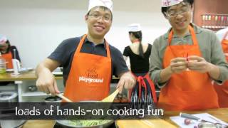 AIMIA Corporate Teambuilding Cookout in Singapore