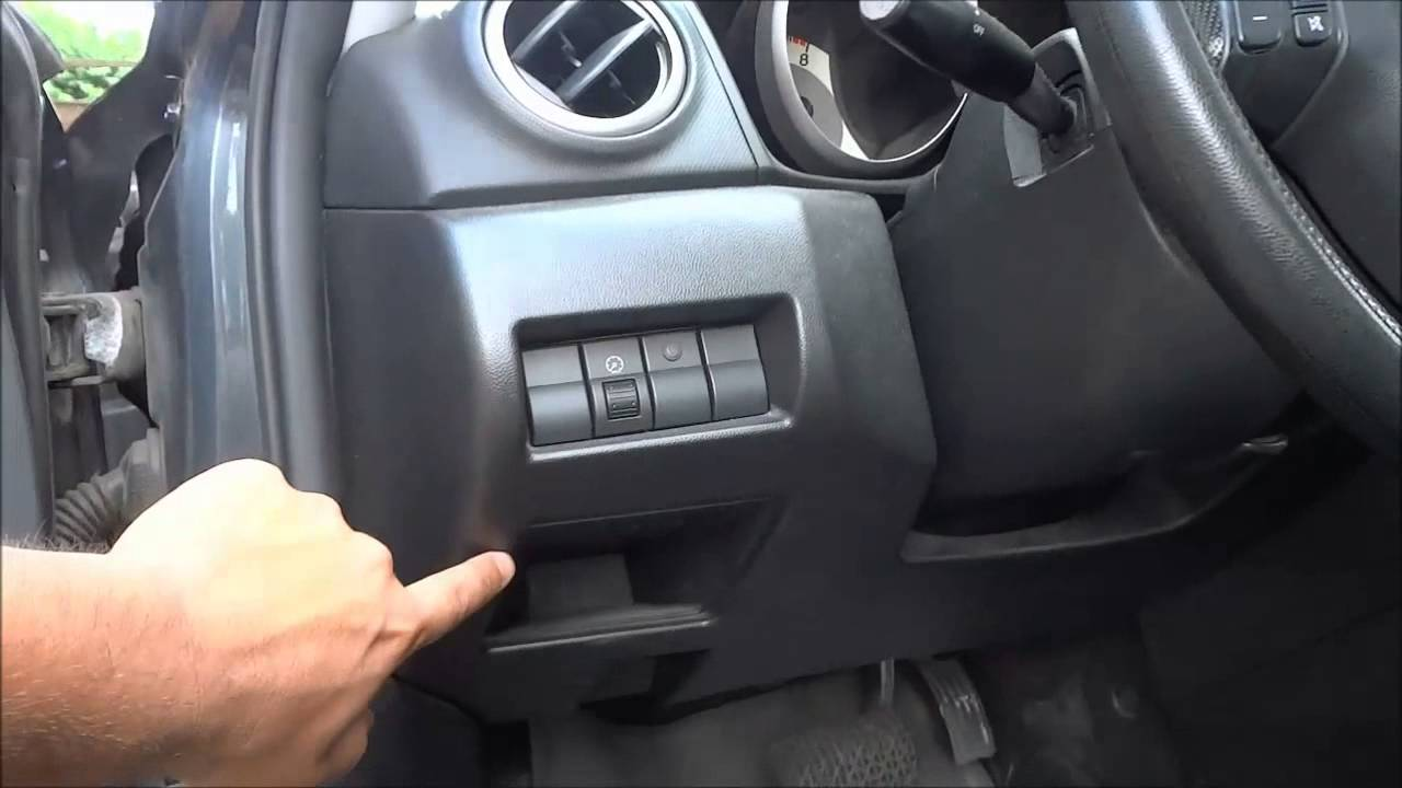 Mazda 3 Obd2 Port Location 2003 2009 Youtube