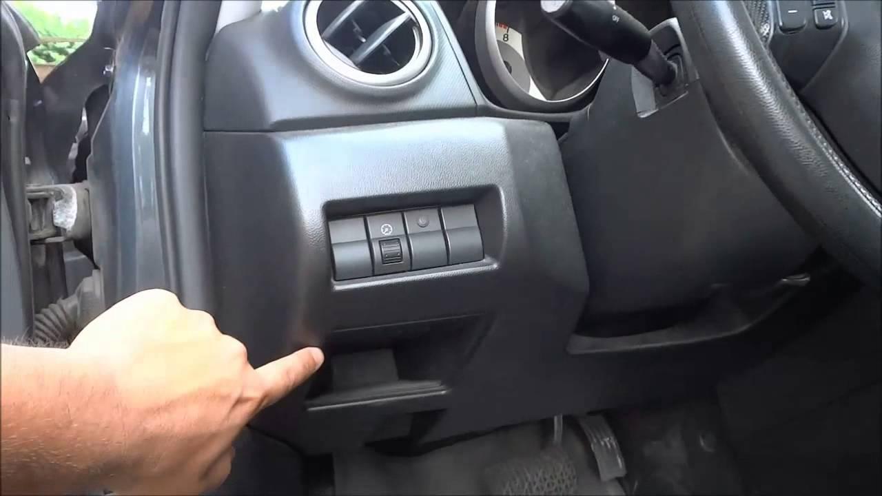 Mazda 3 Obd Connector Location