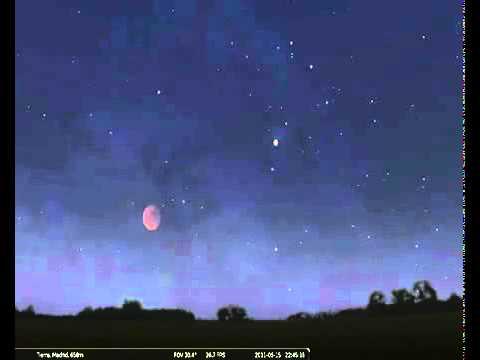 Eclipse total de Luna 15 de junio de 2011